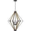 This item: Western Bronze Four-Light Pendant