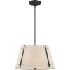 This item: Amherst Mottled Cocoa Three-Light Pendant with Khaki Fabric