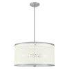 This item: Emmeline Brushed Nickel Five-Light Pendant
