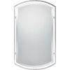 This item: Brushed Nickel Mirror