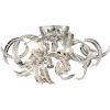 This item: Ribbons Crystal Chrome 18.5-Inch Four-Light Flush Mount