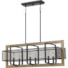 This item: Residence Western Bronze Six-Light Chandelier