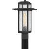 This item: Randall Mottled Black One-Light Outdoor Post Mount