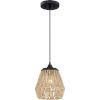 This item: Romain Earth Black One-Light Mini Pendant