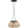 This item: Romain Earth Black 15-Inch Three-Light Pendant