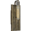 This item: Spinnaker Statuary Bronze One-Light Wall Sconce