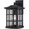 This item: Stonington Mystic Black 15.5-Inch Height One-Light Outdoor Wall Mounted