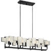 This item: Torrance Old Silver Eight-Light Chandelier