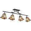 This item: Inglenook Valiant Bronze 42-Inch Four-Light Ceiling Track Fixture