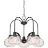 This item: Trilogy Old Bronze 26-Inch Five-Light Chandelier