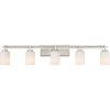 This item: Taylor Brushed Nickel Five-Light Bath Light