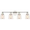 This item: Union Polished Nickel 32-Inch Four-Light Bath Light