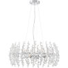 This item: Valla Polished Chrome Eight-Light Pendant