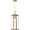 This item: Westover Antique Brass One-Light Outdoor Pendant