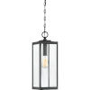 This item: Westover Earth Black One-Light Outdoor Pendant