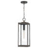 This item: Westover Industrial Bronze One-Light Outdoor Pendant
