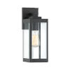 This item: Westover Earth Black 14-Inch One-Light Outdoor Wall Sconce