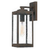 This item: Westover Industrial Bronze Five-Inch One-Light Outdoor Wall Mount