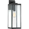 This item: Westover Earth Black 20-Inch One-Light Outdoor Wall Sconce