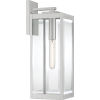 This item: Westover Stainless Steel 20-Inch One-Light Outdoor Lantern with Clear Beveled Glass