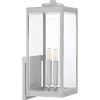 This item: Westover Stainless Steel Two-Light Outdoor Wall Mount