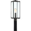 This item: Westover Earth Black One-Light Outdoor Post Mount