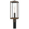 This item: Westover Industrial Bronze One-Light Outdoor Post