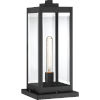 This item: Westover Earth Black One-Light Outdoor Pier Base with Transparent Beveled Glass