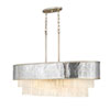 This item: Reverie Champagne Gold 43-Inch 10-Light Chandelier