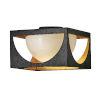 This item: Vega Anvil Black One-Light Flush Mount