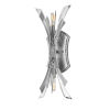 This item: Vida Glacial Two-Light Wall Sconce