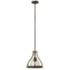 This item: Middlefield Iron Rust One Light Pendant with Smoked Glass