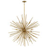 This item: Tryst Burnished Gold Sixteen-Light Stem Hung Pendant