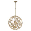 This item: Eve Champagne Gold Six-Light Pendant
