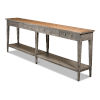 This item: Gray Provincial Hall Table