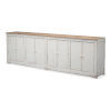 This item: Antique White Eight Is Enough Sideboard