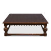 This item: Brown 59-Inch Durand Coffee Table