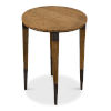 This item: Tan 22-Inch Saber Leg Chairside Table