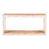 This item: White 14-Inch Vermont Lodge Console Table