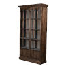This item: Brown Refined Arches Tall Bookcase