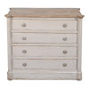 This item: Gray 20-Inch Petit Commode with Drawers