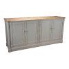 This item: Gray Fieldstone Sideboard