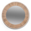 This item: White 30 x 30 Inches Circular Wood Mirror