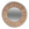 This item: White 20 x 20 Inches Circular Wood Mirror
