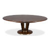 This item: Brown 64-Inch Soho Jupe Dining Table