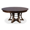 This item: Burnt Brown 84-Inch Tower Jupe Dining Table