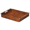 This item: Tobacco Safari Leather Tray