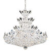 This item: Trilliane Polished Silver 24-Light Chandelier