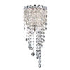 This item: Chantant Polished Stainless Steel Seven-Inch Two-Light Wall Sconce