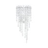 This item: Chantant Polished Stainless Steel Two-Light Wall Sconce